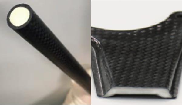 CFRPなどの様々な材料との一体成形