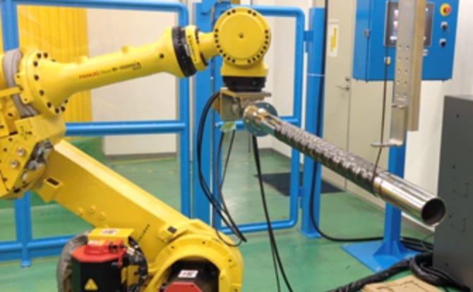 CFRP生産ラインの写真