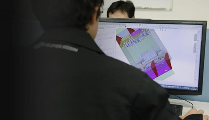 コンピュータ画面の写真