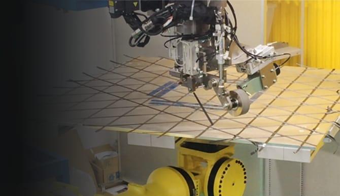 CFRP自在成形技術の写真