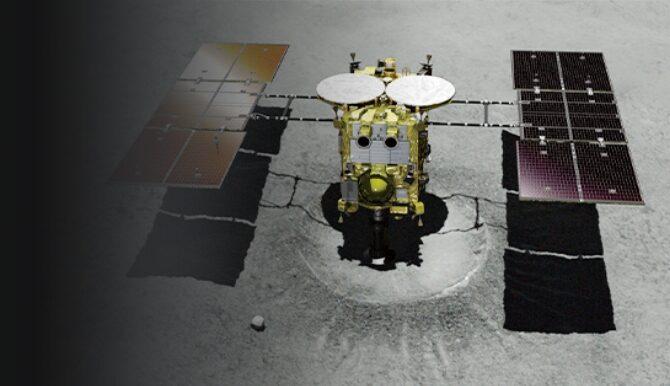 衛星の写真