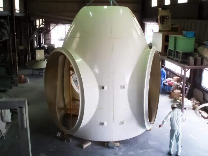 2400kw 頭部カプセル